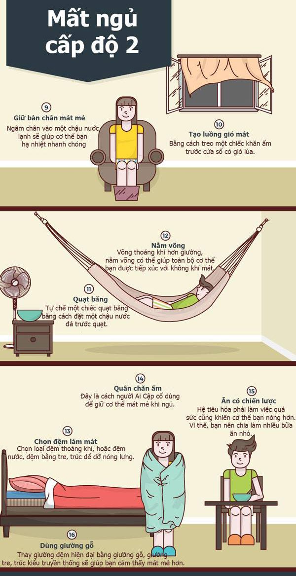16 cách giúp cơ thể bạn bớt nóng nực trong đêm hè - Ảnh 2