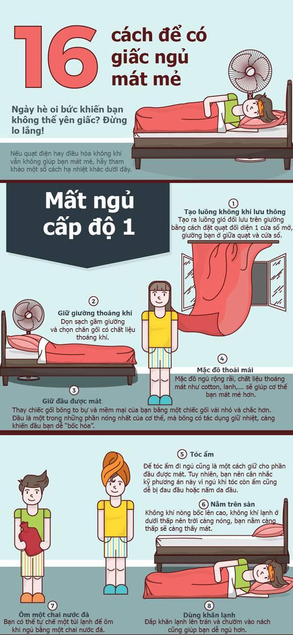 16 cách giúp cơ thể bạn bớt nóng nực trong đêm hè - Ảnh 1