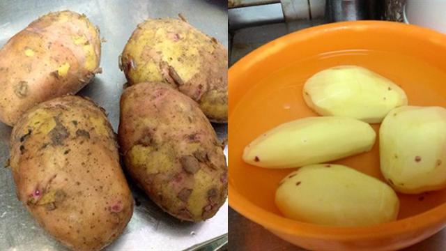 Tự tay chế biến khoai lang, khoai tây lắc phô mai đơn giản tại nhà - Ảnh 4