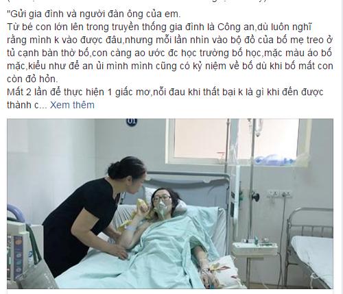 Dân mạng khóc thương cho người mẹ từ chối điều trị ung thư để cứu con - Ảnh 1