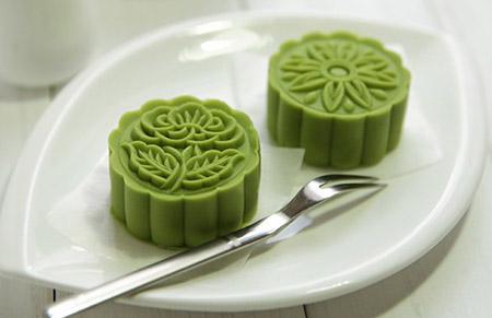 Cách làm bánh trung thu nhân đậu xanh, trà xanh ngon tuyệt - Ảnh 6