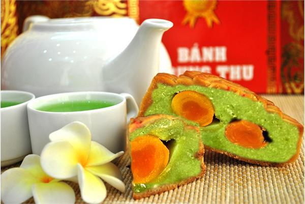 Cách làm bánh trung thu nhân đậu xanh, trà xanh ngon tuyệt - Ảnh 4