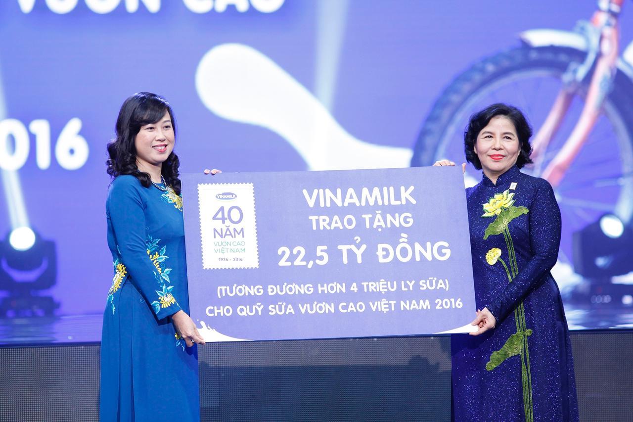 Vinamilk 40 năm nuôi dưỡng ước mơ vươn cao Việt Nam - Ảnh 5