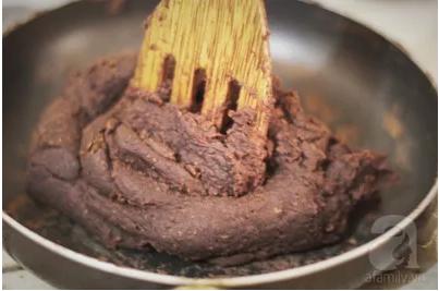 Làm bánh nếp đậu đỏ không dùng màu thực phẩm vừa ngon vừa lành - Ảnh 8