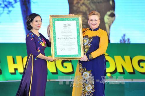 Phong Nha – Kẻ Bàng được vinh danh Di sản thế giới lần 2 - Ảnh 1