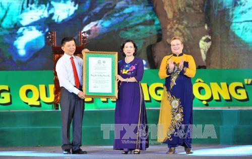 Phong Nha – Kẻ Bàng được vinh danh Di sản thế giới lần 2 - Ảnh 2