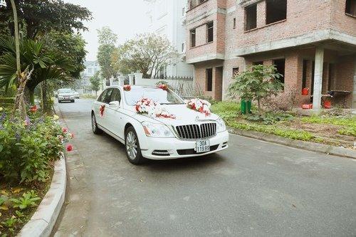Nam Cường rước dâu ở Hà Nội bằng siêu xe 20 tỷ - Ảnh 1