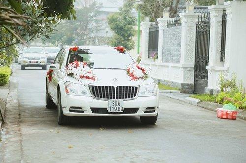 Nam Cường rước dâu ở Hà Nội bằng siêu xe 20 tỷ - Ảnh 2