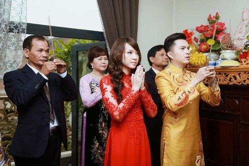 Nam Cường rước dâu ở Hà Nội bằng siêu xe 20 tỷ - Ảnh 12