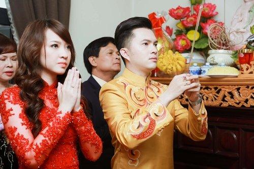 Nam Cường rước dâu ở Hà Nội bằng siêu xe 20 tỷ - Ảnh 13