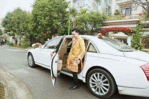 Nam Cường rước dâu ở Hà Nội bằng siêu xe 20 tỷ - Ảnh 3