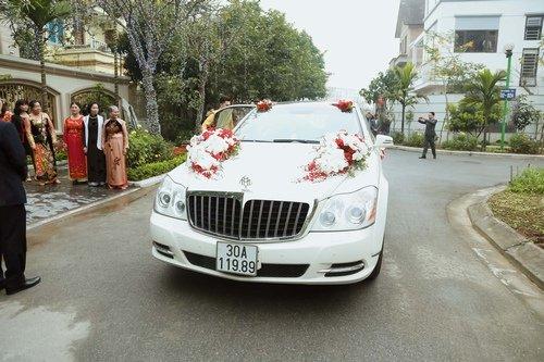 Nam Cường rước dâu ở Hà Nội bằng siêu xe 20 tỷ - Ảnh 4