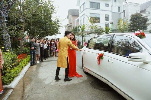 Nam Cường rước dâu ở Hà Nội bằng siêu xe 20 tỷ - Ảnh 6