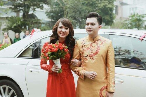 Nam Cường rước dâu ở Hà Nội bằng siêu xe 20 tỷ - Ảnh 8