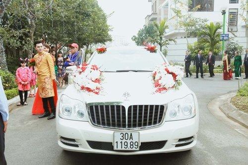 Nam Cường rước dâu ở Hà Nội bằng siêu xe 20 tỷ - Ảnh 9