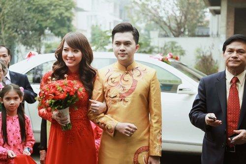 Nam Cường rước dâu ở Hà Nội bằng siêu xe 20 tỷ - Ảnh 10