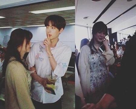 Ahn Jae Hyun và Go Hye Sun tới Jeju chụp ảnh cưới - Ảnh 1