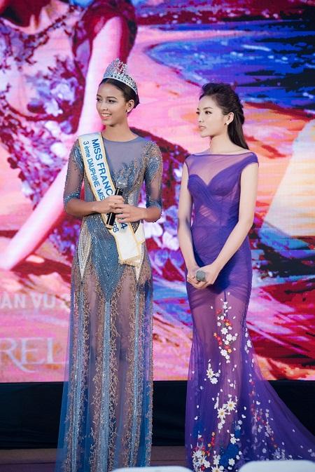 Hoa hậu Pháp Flora Coquerel đẹp lấn át Kỳ Duyên - Ảnh 3