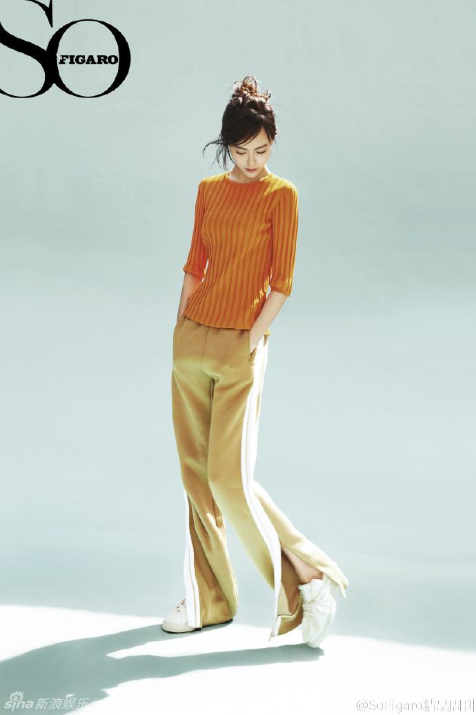 Đường Yên khoe dáng như người mẫu trên tạp chí - Ảnh 3