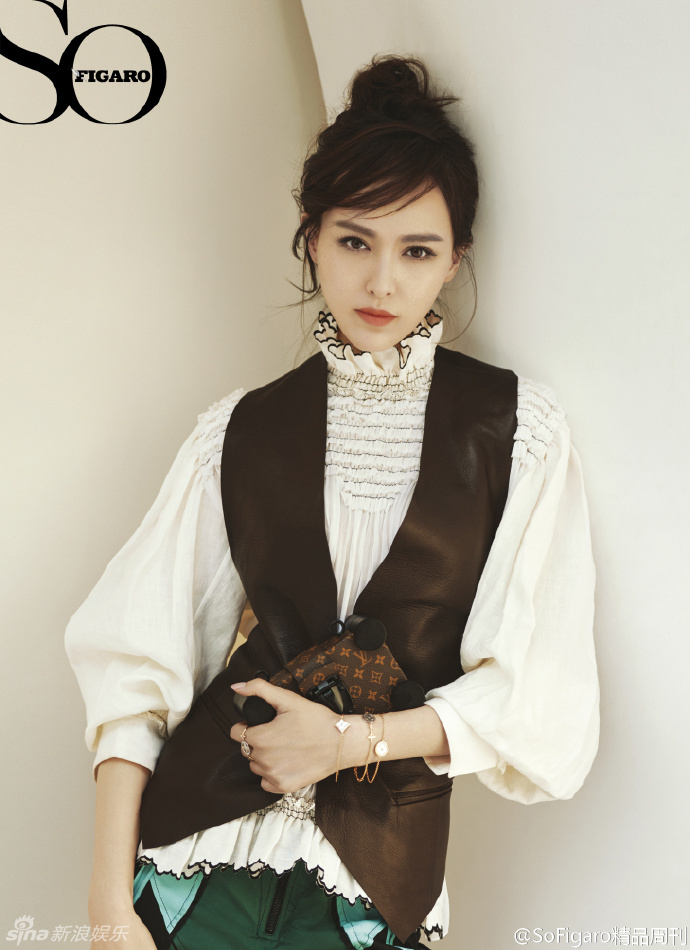 Đường Yên khoe dáng như người mẫu trên tạp chí - Ảnh 1