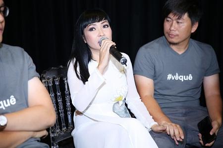 """Phương Thanh bất ngờ nhận được câu hỏi: Động cơ ra MV """"Về quê"""" là gì? - Ảnh 1"""