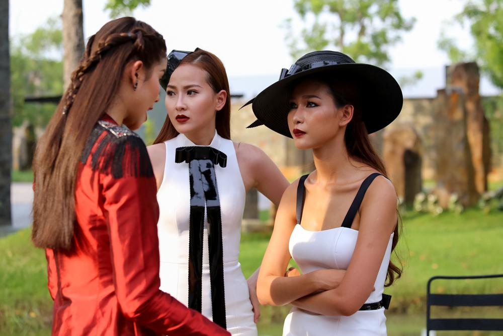 The Face tập 5: Phạm Hương gằn giọng, đập bàn quát Diệp Linh Châu - Ảnh 5