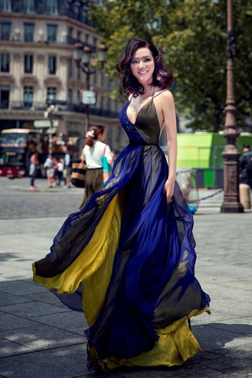 Nhờ photoshop, Hoa hậu Giáng My sở hữu eo thon hơn cả Ngọc Trinh - Ảnh 2