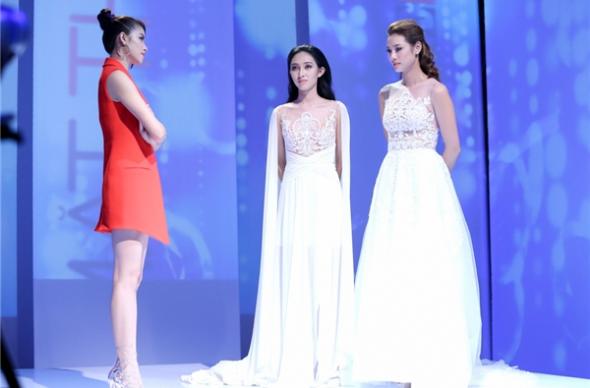 4 lần Phạm Hương thẳng tay loại thí sinh đội Lan Khuê ở The Face - Ảnh 4