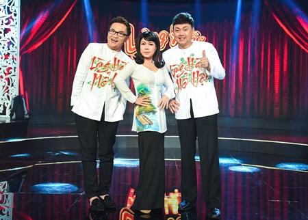 Việt Hương trẻ trung với thời trang thập niên 80 - Ảnh 1