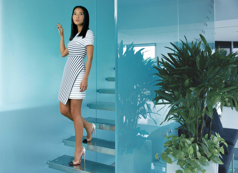 Siêu mẫu Bằng Lăng quyến rũ trong thiết kế của Tăng Thanh Hà - Ảnh 5