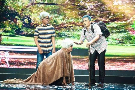 Làng Hài Mở Hội: Khiến giám khảo tranh cãi, Dí Dỏm vẫn đoạt 100 triệu đồng - Ảnh 2