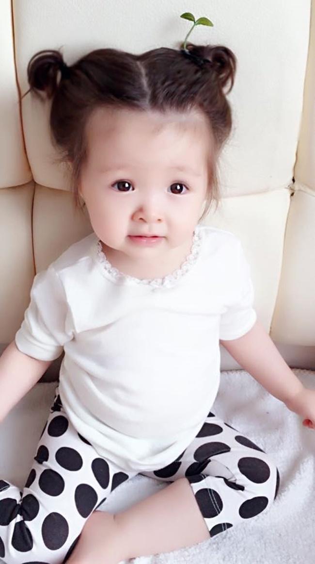 """Con gái Elly Trần cũng """"đu"""" theo trào lưu """"mọc cây trên đầu""""  - Ảnh 2"""