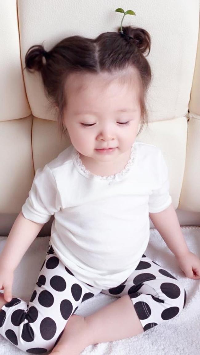 """Con gái Elly Trần cũng """"đu"""" theo trào lưu """"mọc cây trên đầu""""  - Ảnh 3"""
