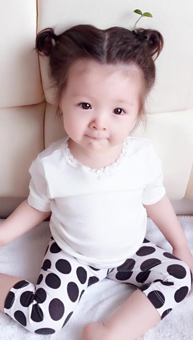 """Con gái Elly Trần cũng """"đu"""" theo trào lưu """"mọc cây trên đầu""""  - Ảnh 4"""