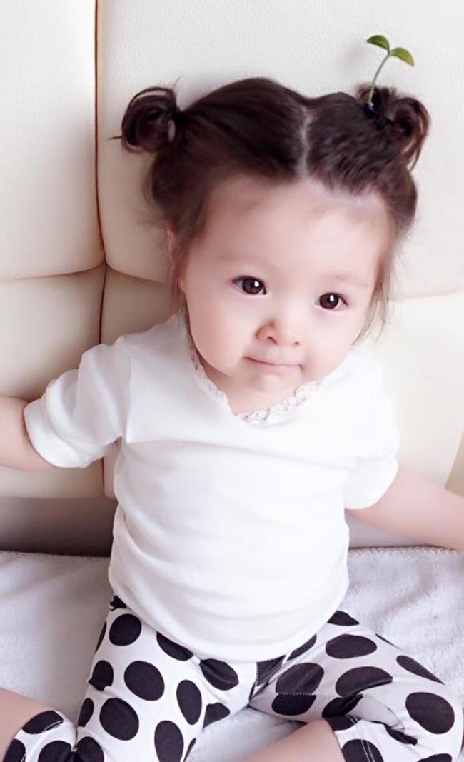 """Con gái Elly Trần cũng """"đu"""" theo trào lưu """"mọc cây trên đầu""""  - Ảnh 6"""