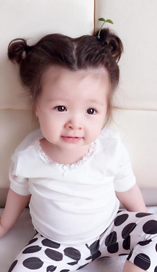 """Con gái Elly Trần cũng """"đu"""" theo trào lưu """"mọc cây trên đầu""""  - Ảnh 9"""