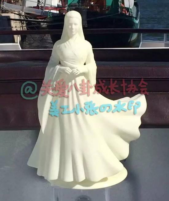Trần Hiểu cầu hôn Trần Nghiên Hy bằng tượng Tiểu Long Nữ - Ảnh 3