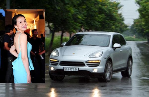 Porsche Cayenne của hoa hậu Thùy Lâm, giá bao nhiêu? - Ảnh 1