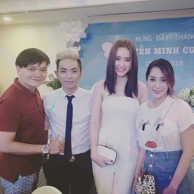 """Khánh Thi - Phan Hiển lần đầu lộ ảnh """"quý tử"""" - Ảnh 7"""