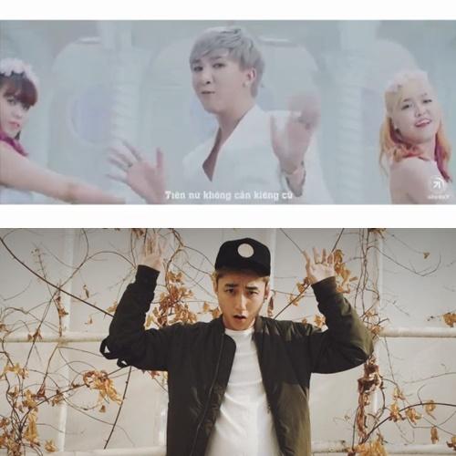 """Ca sĩ trẻ ra MV mới """"nhái"""" hoàn toàn phong cách Sơn Tùng M-TP  - Ảnh 4"""