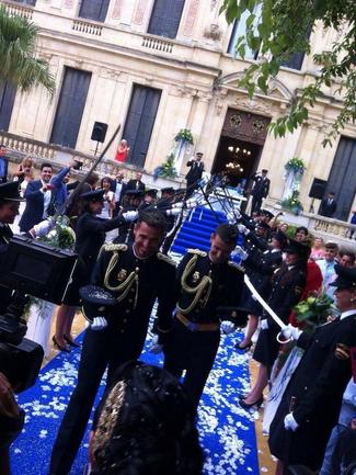 Đám cưới của hai nam cảnh sát ở Tây Ban Nha - Ảnh 2