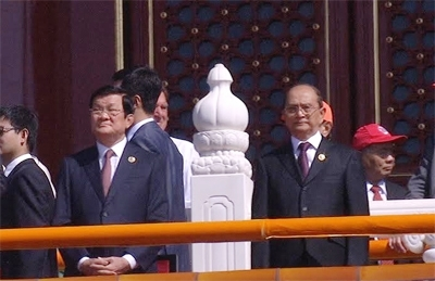 Chủ tịch nước dự Lễ kỷ niệm 70 năm chiến thắng phát xít - Ảnh 1