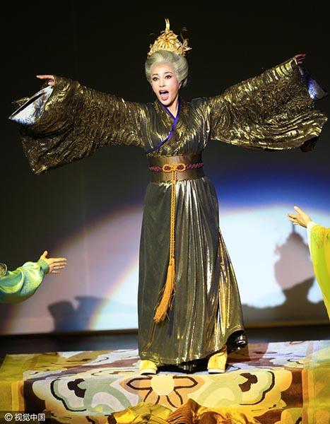 Lưu Hiểu Khánh lại hóa thân thành Võ Tắc Thiên - Ảnh 3
