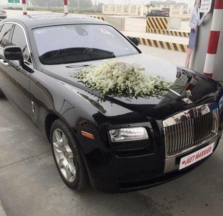 """Đám cưới Á hậu Trà My tràn ngập siêu xe """"khủng"""" - Ảnh 7"""