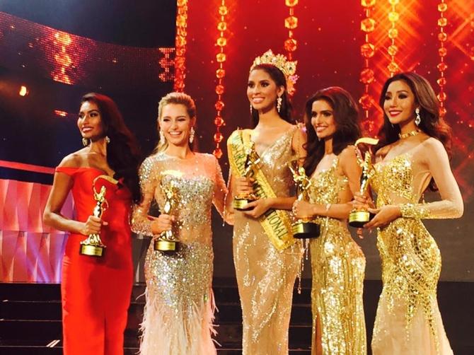 Tước vương miện của Hoa hậu Hòa bình Quốc tế 2015 - Ảnh 1