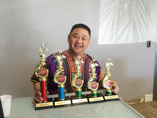 Diễn viên Minh Béo bị bắt giữ khẩn cấp ở Mỹ - Ảnh 1
