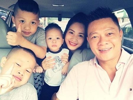Nhan sắc của vợ các MC nổi tiếng nhất Việt Nam - Ảnh 3