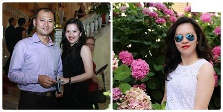 Nhan sắc của vợ các MC nổi tiếng nhất Việt Nam - Ảnh 8