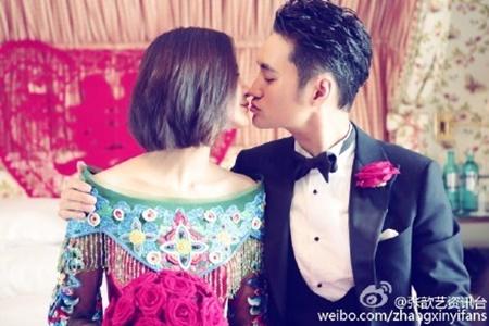 Đám cưới hội tụ dàn mỹ nam mỹ nữ Hoa ngữ của Viên Hoằng - Trương Hâm Nghệ - Ảnh 14