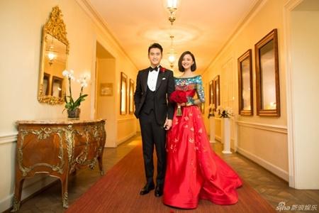 Đám cưới hội tụ dàn mỹ nam mỹ nữ Hoa ngữ của Viên Hoằng - Trương Hâm Nghệ - Ảnh 2